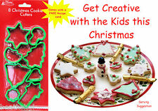 8 Christmas Cookie Cutters