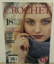 Interweave Crochet Fall 2016 18 Splendid Projects FREE SHIPPING