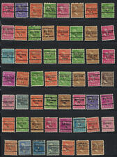 55 FLORIDA PRECANCEL STAMPS WEIRSDALE TO ZOTTO SPRINGS LOT # 112