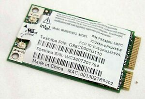 G86C0001U910 Toshiba Satellite A105 Wireless WIFI Network Card WM3945ABG TESTED