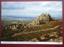 POSTCARD SHROPSHIRE THE DEVILS CHAIR ON THE STIPERSTONES