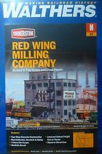 Walthers N #933-3212 Red Wing Milling Company (Plastic Kit) NEW