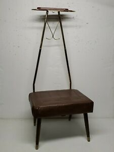 VTG PEARL-WICK Butlers Chair Mid-Century 1950's Made in the USA