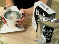 6pcs NEW Black Latte dry drink Weight Loss. Body Cleansing product 100% original