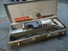 Porter Cable Tiger Saw 737 & Case Variable Speed Corded Reciprocating w/ Blades