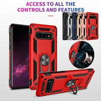 Magnetic Ring Hybrid Armor Holder Cover Case For Samsung Galaxy S8 S9 S10 Plus