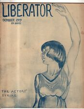 1919 Liberator October-Lenin Writings, Socialist and Communist Conventions- Rare