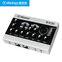 USB Sound Card Audio Recording Interface External DSP Effect 48V for PC Phones