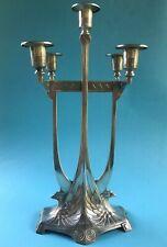 WMF Jugendstil Leuchter Kerzenleuchter Württembergische Metallwarenfabrik ~1910
