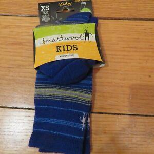 Smartwool Wintersport Kids Over-the-Calf Socks Medium Cushioned Wool  XS- 6-8.5