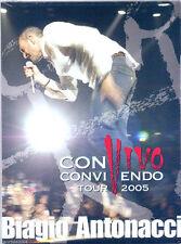 Biagio Antonacci. Convivendo Tour 2005 DVD NUOVO Iris. Non ci Facciamo Compagnia