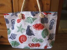 XXL Tasche ♥ große Strandtasche ♥ Sporttasche Badetasche Shopper Muscheln Möwe