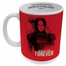 122893 RED GIRL KATNISS HUNGER GAMES MOCKINGJAY PART 2 CERAMIC 330ml COFFEE MUG