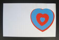 Marcel Duchamp 1961 serigraph Coeurs Volant proof Moderna Museet Sweden