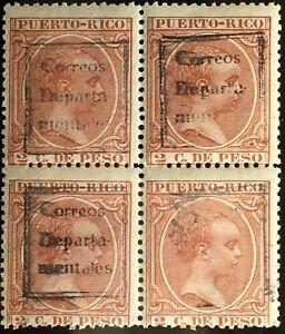8116 Puerto / Porto Rico, USA, Spain, 1892, Scott 102
