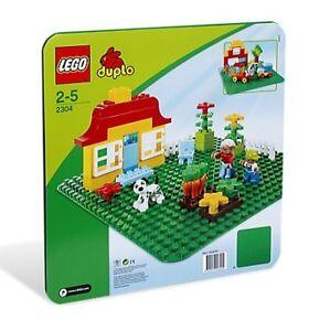 LEGO 2304 - Duplo - Große Bauplatte, grün