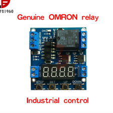 1 Channel Trigger Delay Cycle Relay Module 6-30V Timer Circuit Switch Adjustable