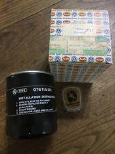 Original Volkswagen Oil Filter Part No 076115561