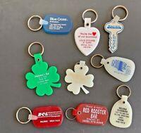 9 Vintage Keychains, Montana  - Lot 114