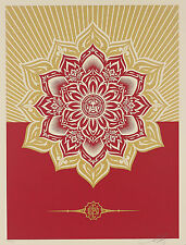 HOLIDAY MANDALA 2013 GIFT never for sale obey giant shepard fairey