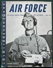 AIR FORCE Magazine 1946 w Remote Control Planes Crossroads A-Bomb Tests + more