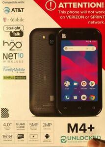 New, BLU S850U M4 Plus Smartphone (S850U) Unlocked, Black, Free Shipping