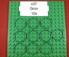 Gummiringe für LEGO-Grün-Green-x37-Rubber Belt Med. Round Cross Section(3X3)-10X