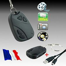 MINI CAMERA ESPION PORTE CLE CLEF VOITURE VIDEO AUDIO PHOTO DVR 808 dv