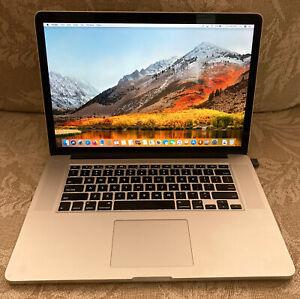 Apple Macbook Pro Retina, 16GB, 1TB SSD, 2.2 - 3.4 GHz Quad Core i7