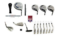TALL GRAPHITE XL SENIOR MENS COMPLETE GOLF SET DRIVER +WDS+4-9 IRNS+PW+SW+PUTTER