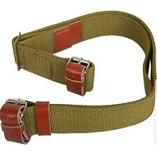 MOSIN NAGANT SLING FOR THE M91/30-M44 CARBINE. GREEN CANVAS. NEW. 7.62X54R
