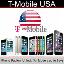 T Mobile USA iPhone Factory Unlock Service (All Models up to 6s Plus Supported)