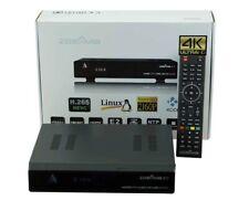 Zgemma H7S 4K UHD H.265 HEVC Triple Tuner Combo2x DVB-S2X + 1x DVB-C/T2Linux E