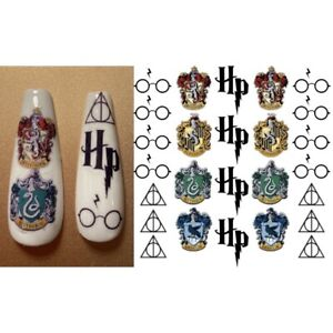Waterslide Nail Decal Stickers Harry Potter Inspired
