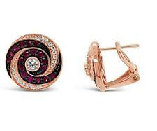 Le Vian ® pendientes-Pasión Rubí ™ ® Diamantes De Vainilla - 14K oro Fresa ®