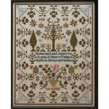 Maria Short Sampler Moira Blackburn Cross Stitch Pattern