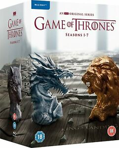 Game of Thrones Complete Seasons 1-7 [Blu-ray] [2011] [2017] New Sealed