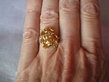 Rio Grande Citrine ring, size L/M, 3.04 carats, in 2.86 grams of 925 Sterling Si