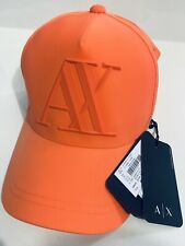 New Armani Exchange AX Mens RUBBER AX HAT