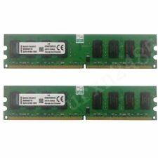 Nuevo 4GB (2x 2GB)/1G PC2-5300 DDR2-667MHz Ram para Kingston Lote KVR667D2N5/2G PC