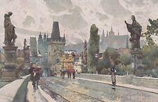 Postcard - Praha (Prag) / Na Karlovè moste