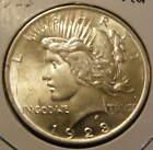 BU 1923 Peace Dollar 90% Silver - Very Nice # 130923-31