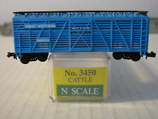 Model Power N scale #3450 Cattle Stock Car Great Northern