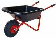 EXTRA STRONG CHILDS WHEELBARROW with pneumatic tyres GREAT KIDS CHRISTMAS GIFT