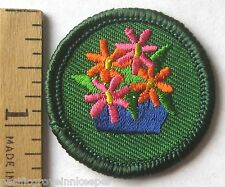 Retired Girl Scout 2001-2011 Junior ART IN THE HOME BADGE Interior Design Patch