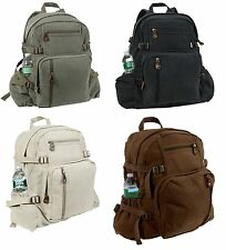 Vintage Jumbo Canvas  Rucksack Backpack
