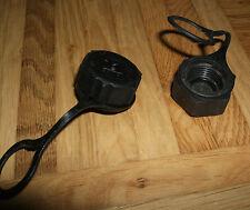 2 Stück Gasflaschen Deckel Kappe Verschlusskappe für 3, 5 + 11 kg Gas Flasche