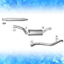 Auspuff FORD FOCUS 2.0 TDCi 81 100 KW KOMBI ohne DPF 2004-2011 Abgasanlage 0320