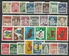 WEST GERMANY BERLIN 1966 COMPLETE YEAR STAMP COLLECTION 29v Mint Never Hinged