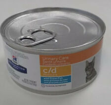Hill's C/D Urinary Care MultiCare Oceanfish Canned Cat Food 24x5.5 oz BBD 8/2022